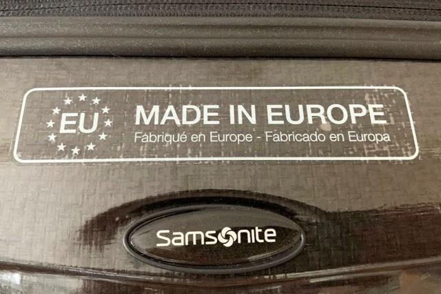 Samsonite Cosmolite -käsimatkatavaralaukku - Made in Europe