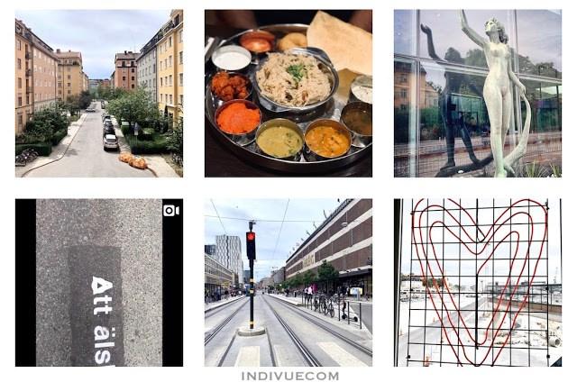 Instagram-kuvia Tukholmasta