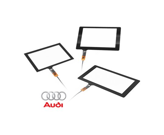 [Capacitive Touch Panel] 7-INCH / 8-INCH For AUDI
