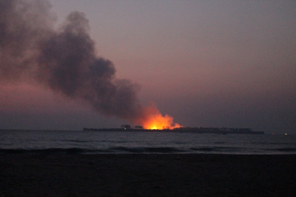 пляж Тракали