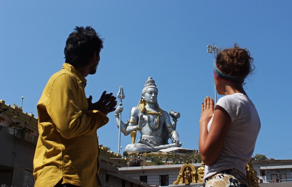 Индия: Шива и самый высокий гопурам.