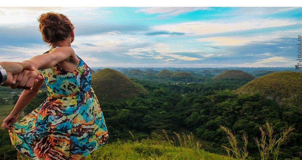 Бохол. Филиппины. Шоколадные холмы
