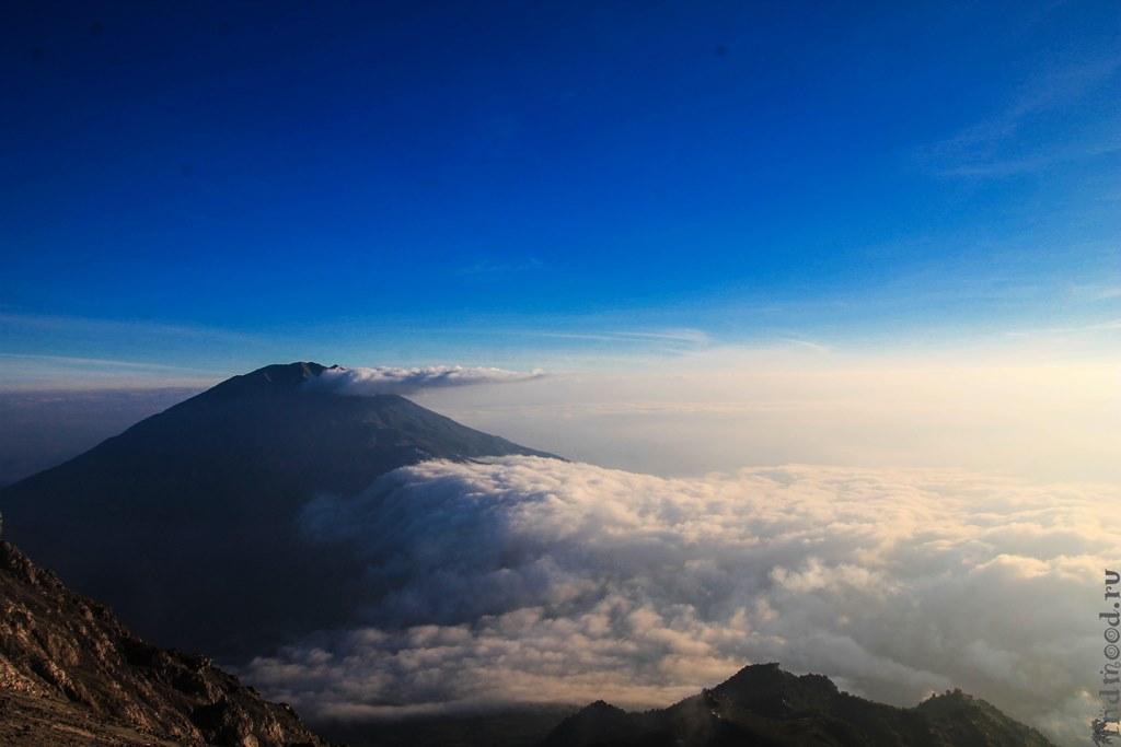 вулканы Индонезия