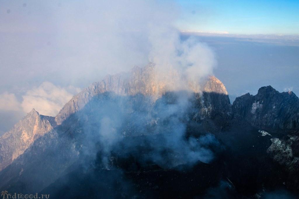 вулканы ява