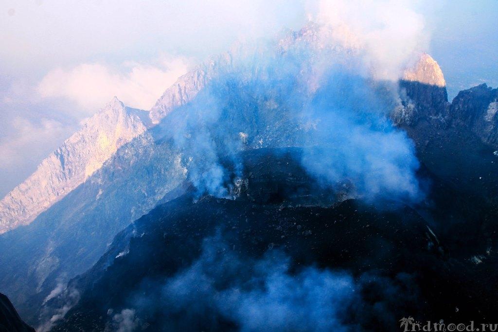 подъем на вулкан