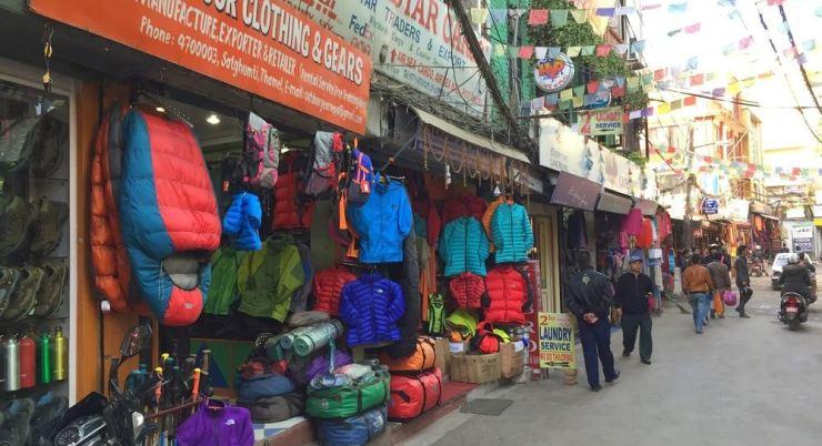 Непал: купить вещи для треккинга
