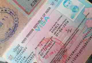 индия виза