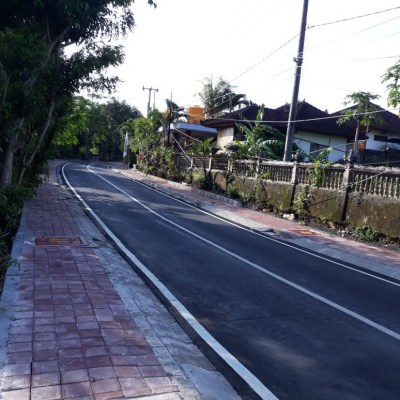 Land for lease on the main road of Labuansait, Pecatu, Jimbaran, Bali
