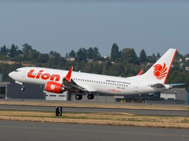 pesawat Boeing 737 MAX 8 registrasi PK-LQP