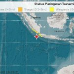 Gempa 7,4 Mag Berpusat di 147 Km Barat Daya Sumur Banten