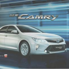 All New Camry 2017 Indonesia Pajak Grand Avanza 2018 Toyota Brochure Indonesian Car