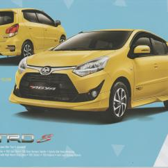 Toyota New Agya Trd 2017 Jual Bumper Grand Veloz Brochure 5 Indonesian Car