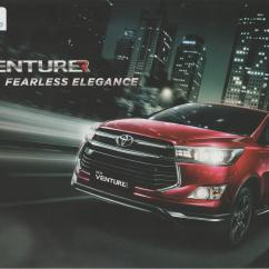 All New Kijang Innova Venturer Grand Avanza Vs Xenia 2016 Toyota Brochure Indonesian Car 0