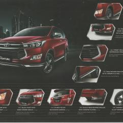 All New Innova Venturer 2017 Toyota Grand Avanza 2019 2016 Kijang Brochure Indonesian