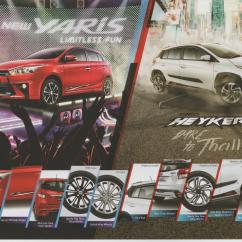 Toyota Yaris Trd Heykers Sportivo Manual Brochure 0 Indonesian Car