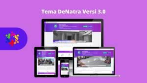 Keunggulan Tema DeNatra OpenSID - Premiun