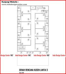 015.Denah Rencana Kusen Lantai 3