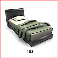 105.Tempat Tidur & Kasur Cover