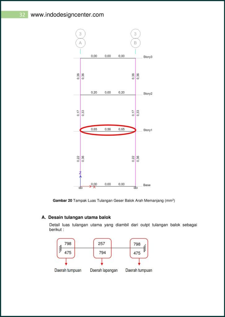 Analisa Struktur Ruko (32)