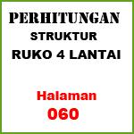 Perhitungan Struktur Ruko 4 Lantai (60)