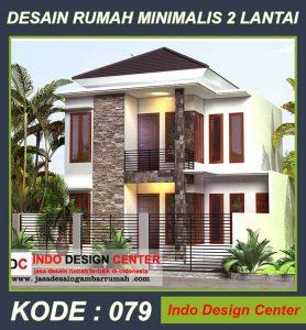 Desain Rumah Minimalis Pak Lukito Di Jakarta