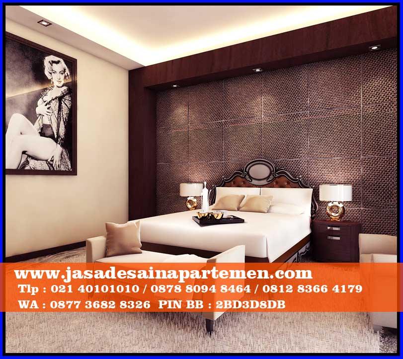 Desain interior kamar tidur apartemen minimalis arsip for Design apartemen 2 kamar tidur