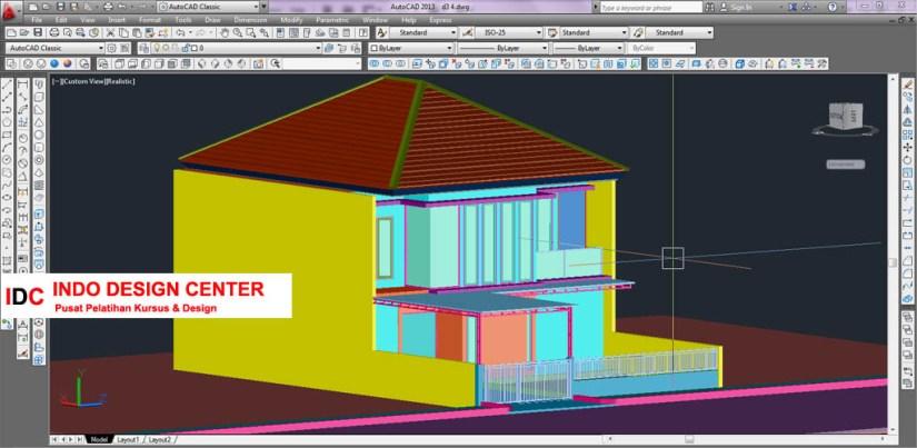 Hasil Kursus CAD 2D & 3D Pak Yuli Buah Batu Bandung Jawa Barat (3)