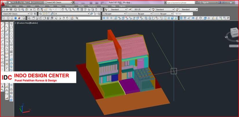 Kursus AUTOCAD 2D 3D dan 3Ds Max Mas Anto Di Bandung (2)