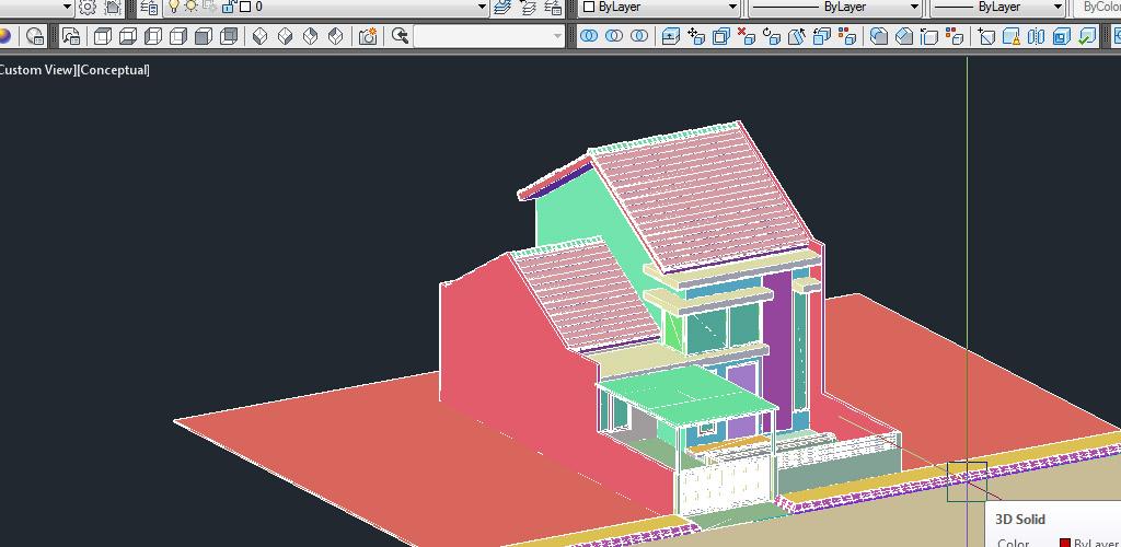 Kursus AUTOCAD 3D Di Bandung Jawa Barat (2)