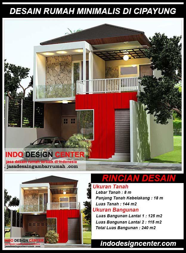 Desain Rumah Minimalis Di Cipayung Jakarta Timur