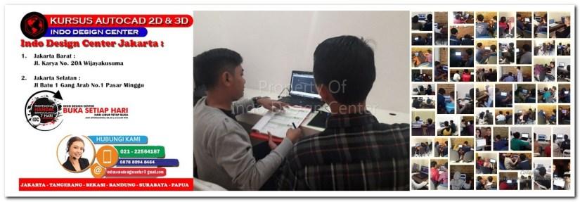 Kursus AutoCAD 2D & 3D Di Kedaung Kali Angke Jakarta Barat - Jakarta Selatan - Bekasi - Tangerang - Bandung - Surabaya
