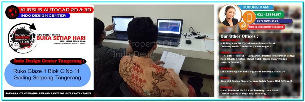 Kursus Drafter AutoCAD Di Malang Nengah-Tangerang-Jakarta-Bekasi-Bandung-Surabaya