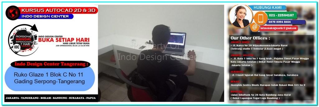 Kursus Drafter AutoCAD Di Panongan-Tangerang-Jakarta-Bekasi-Bandung-Surabaya