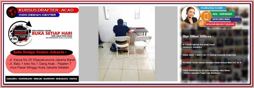 Kursus Gambar Kerja Di Johar Baru - Jakarta - Tangerang - Bekasi - Bandung - Surabaya