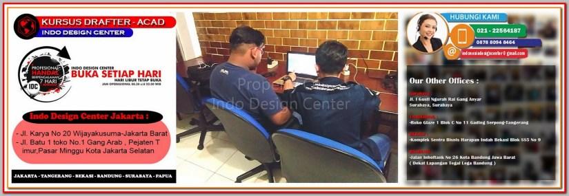 Tempat Kursus AutoCAD Di Pegangsaan - Jakarta - Tangerang - Bekasi - Bandung - Surabaya