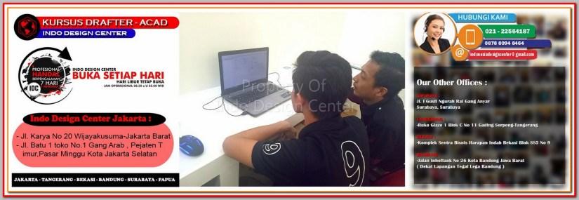 Tempat Kursus AutoCAD Di Kampung Rawa - Jakarta - Tangerang - Bekasi - Bandung - Surabaya