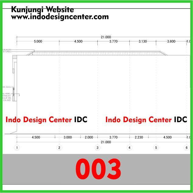 Paket Jasa Desain Arsitek: Contoh Gambar Kerja Autocad Dwg Rumah Minimalis Di