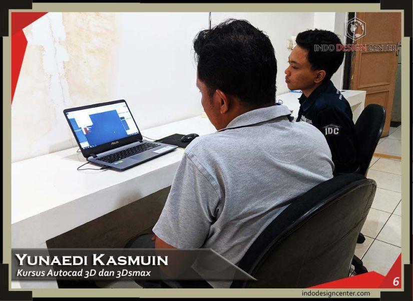 indodesigncenter - Yunaedi Kasmuin - Autocad 3D & 3Ds Max - 6 - Sukron - 3 September 2019
