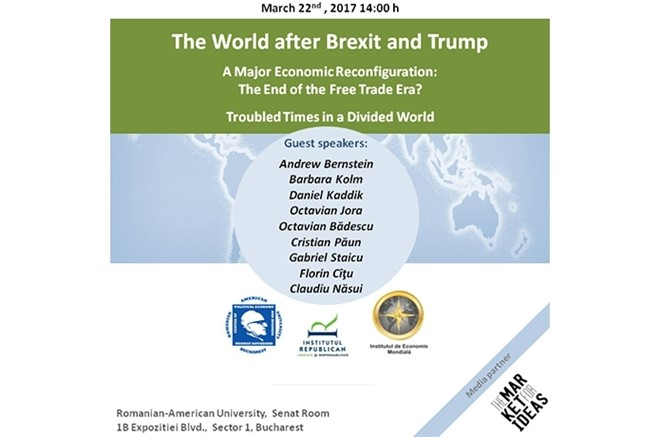 Înregistrare Free Market Road Show 2017 - The world after Brexit and Trump