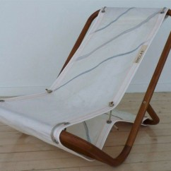 Sailcloth Beach Chairs Dining Room Chair Pad Covers Dvelas Sail Cloth Furniture Indoek Spanish Designer Has Just Released A Line Of Made From Recycled It Is Beautifully Designed Collection And Each Piece Comes