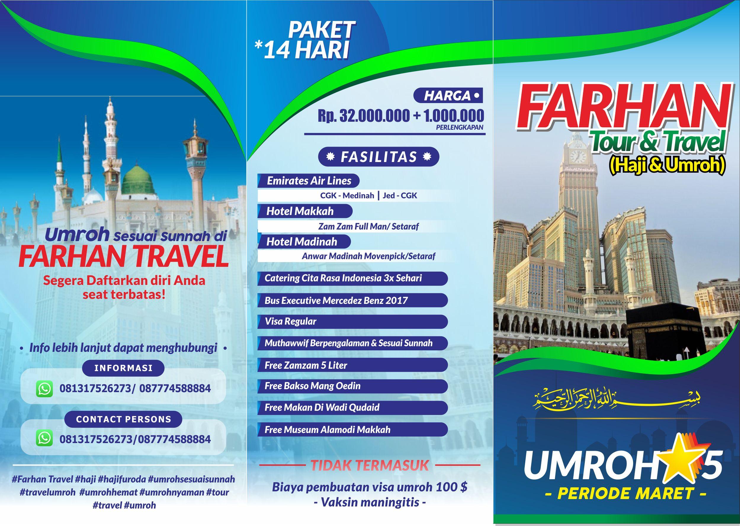 Brosur Farhan Tour r1
