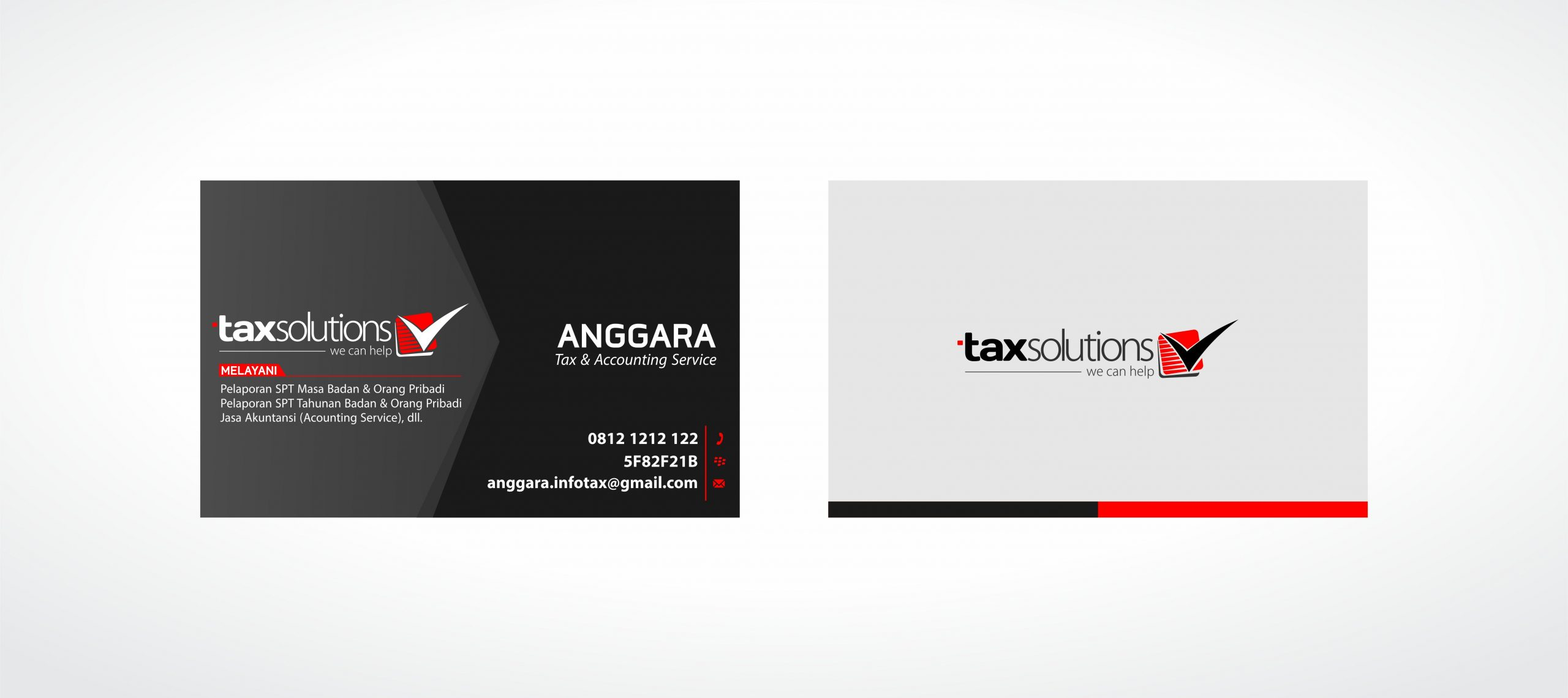 Tax Solution - Business Card