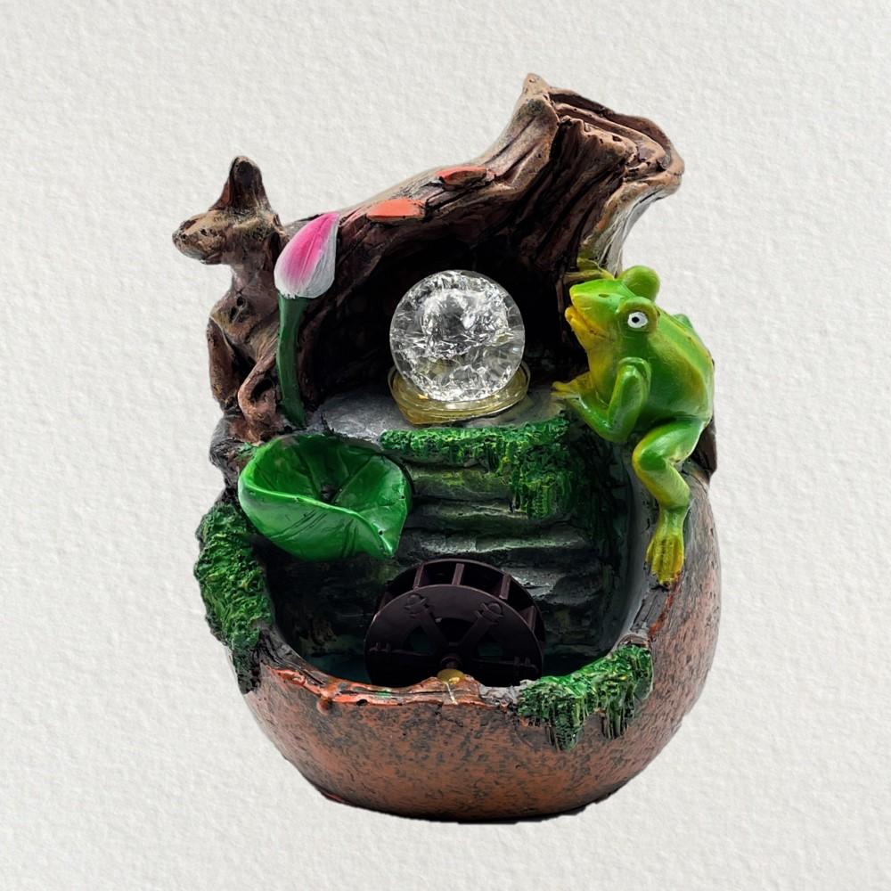Frog Pond Fountain w/ Crystal Ball