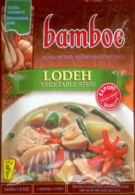 Bumbu Lodeh Jawa : bumbu, lodeh, Lodeh, (Vegetable, Stew), Bamboe