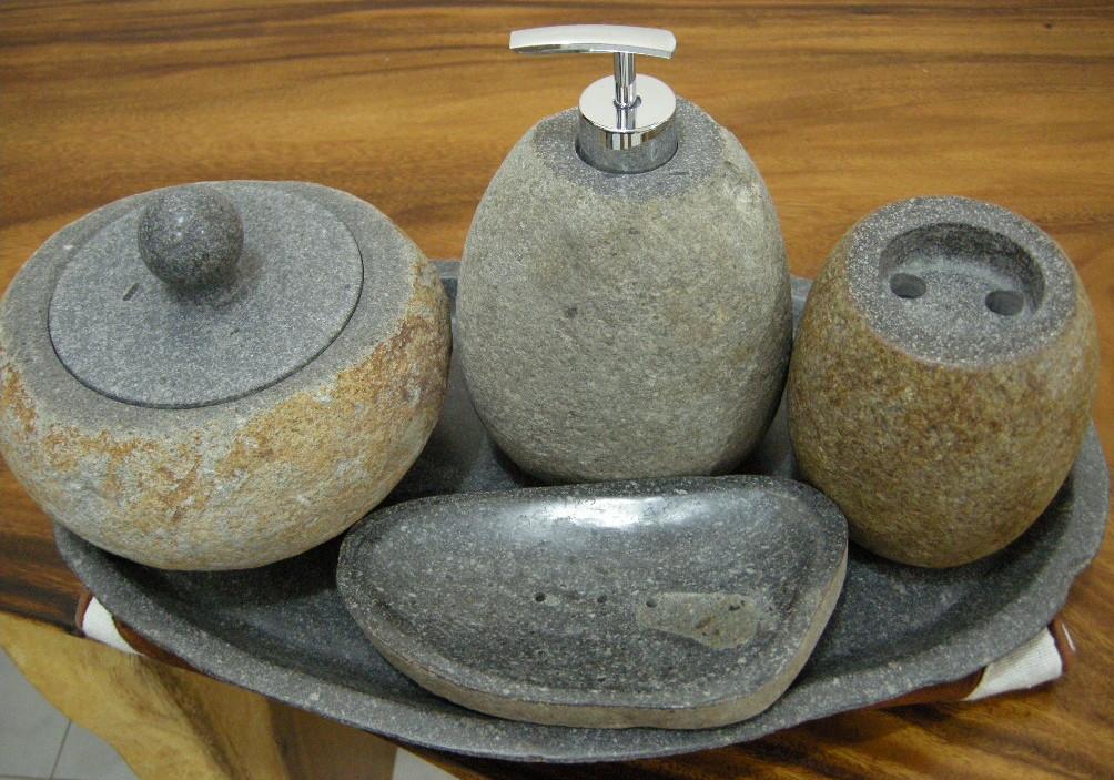 Stone Bathroom Accessories  IndoGemstone  Unusual Home Decor