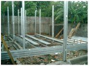 pondasi dengan baja ringan rumah murah berkualitas rii building total solution
