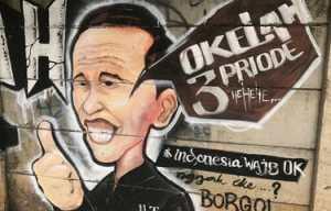 Mural Kritik Presiden 3 Periode