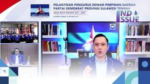 AHY Resmi Lantik Ketua DPD Demokrat Provinsi Sulteng