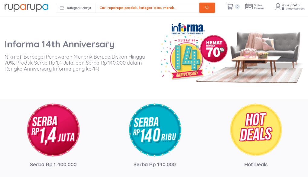 RupaRupa affiliate program, CPA, affiliate platform, affiliate network, Indoleads
