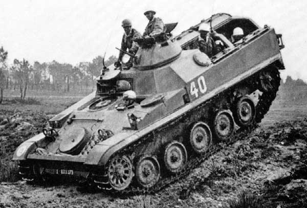 Manuver AMX-13 VCI Israel